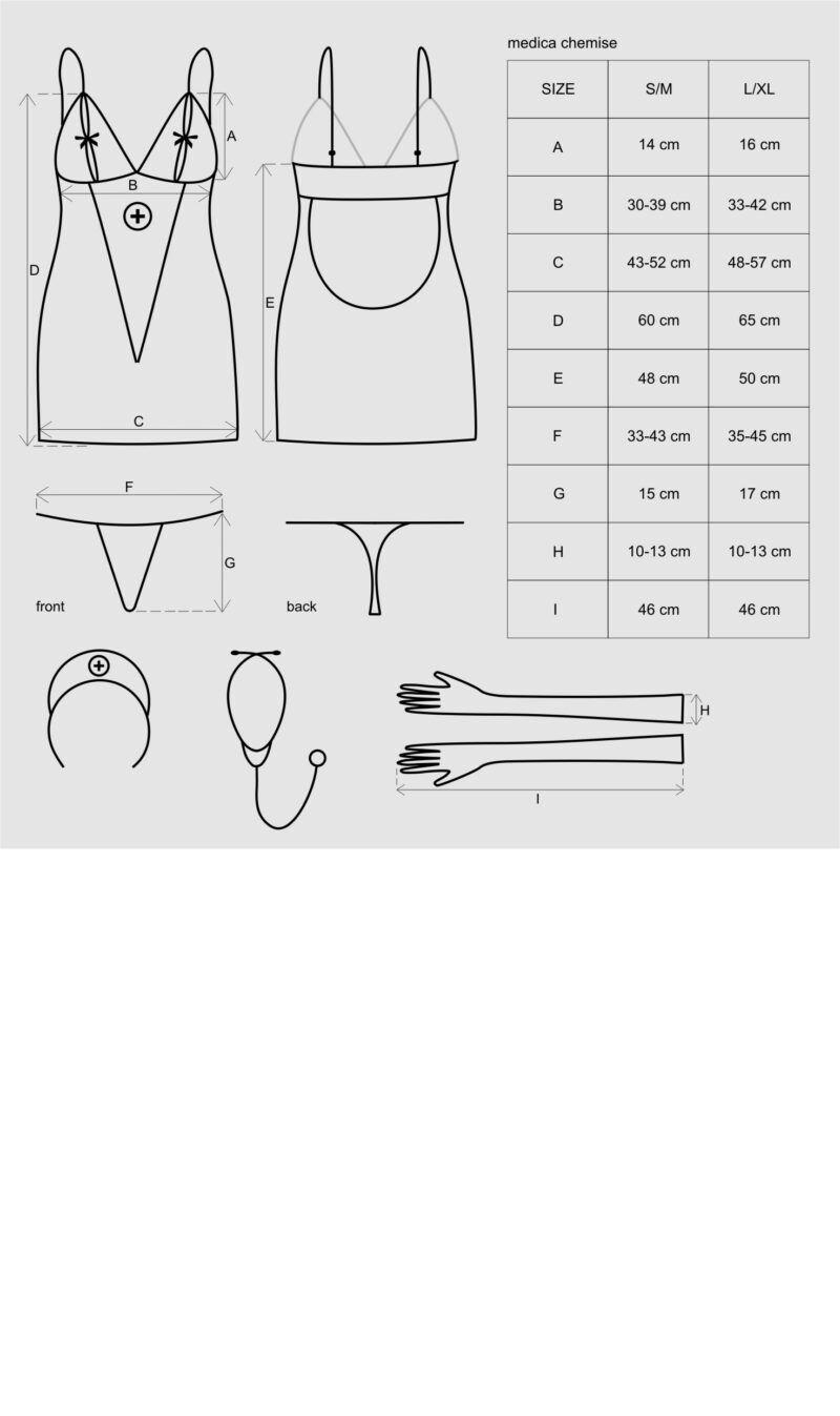 Medica kleit 5-osaline kostüüm