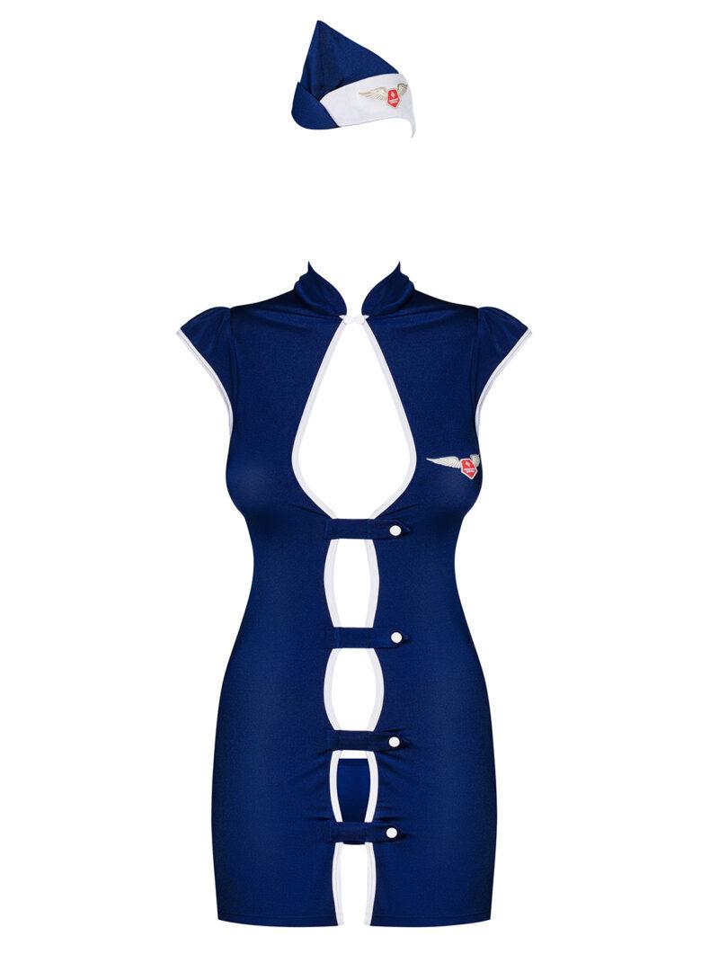 Stewardess 3 pcs costume