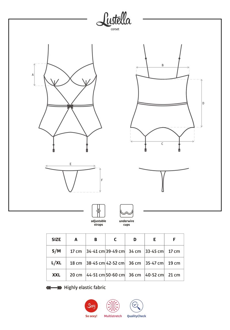 Lustella corset