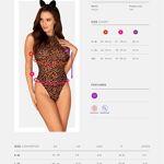 Obsessive-leocatia-leopardi-kostüüm